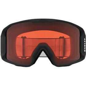Oakley Line Miner Lunettes de ski Homme, matte black/w prizm rose